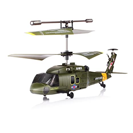 Review Syma S102G 3.5 Channel RC Helicopter with Gyro
