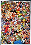 DragonBallZ extremely busy POSTER 14.5 x 21 Dragon Ball Z Ballz DragonBall DBZ amine manga (sent FROM USA in PVC pipe)
