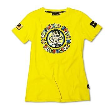 Camiseta Valentino Rossi 46 The Doctor Amarillo: Amazon.es: Deportes y aire libre