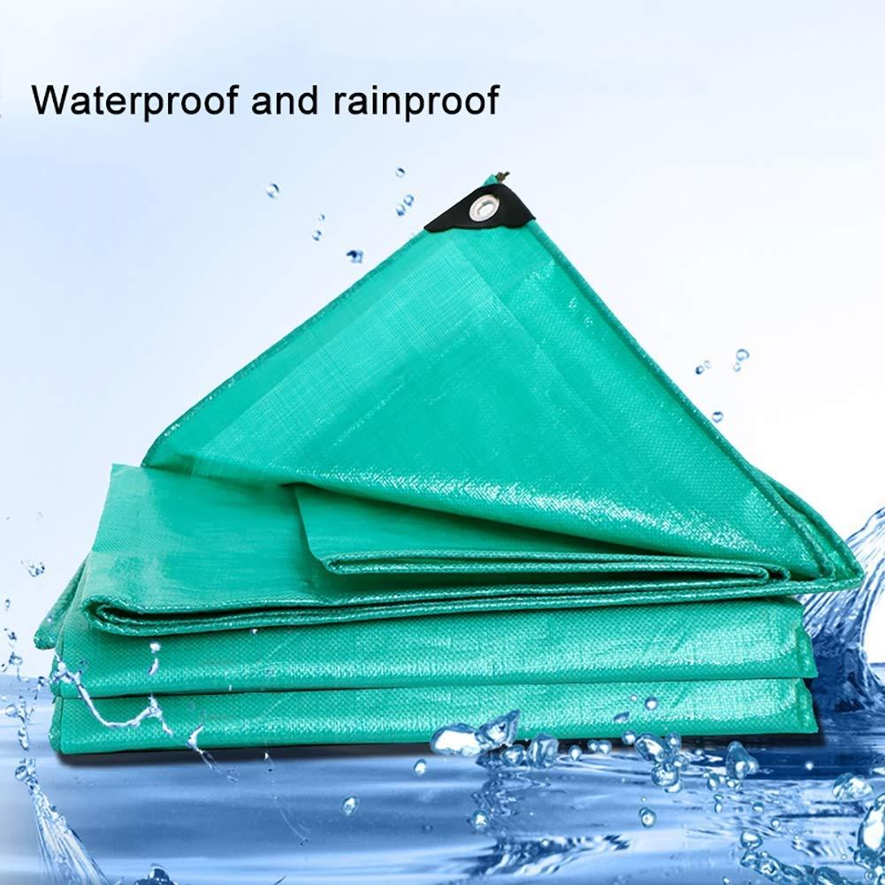 ZLL BÂches extérieures BÂches imperméables et résistantes BÂches anti-pluie résistantes à la pluie anti-vieillissement Couverture de piscine de grande taille épaissie en polyéthylèn