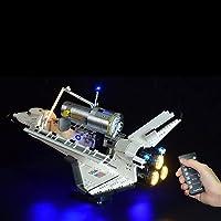 LYCH Led-verlichtingsset afstandsbediening voor LEGO Nasa Space Shuttle Discovery model, verlichting compatibel met LEGO…