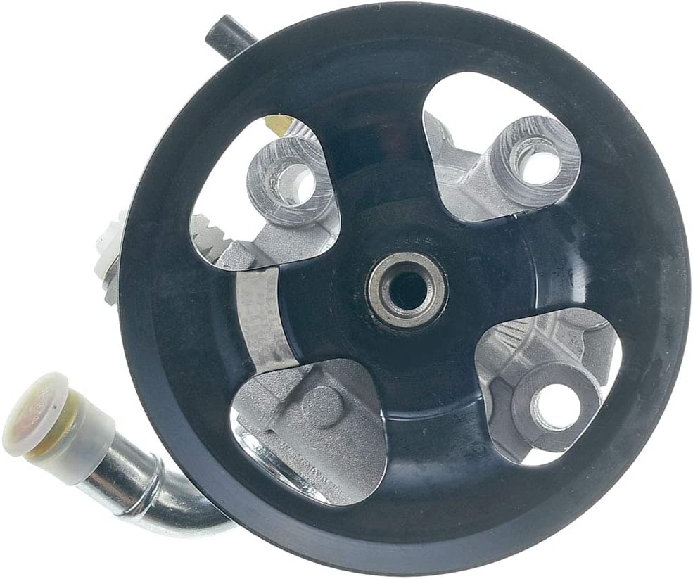 A-Premium Power Steering Pump with Pulley Replacement for Toyota Corolla Matrix Pontiac Vibe 2003-2008
