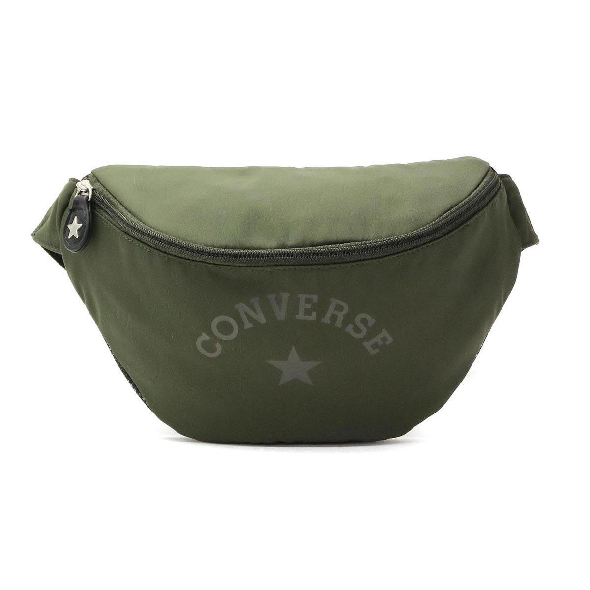 [コンバース]CONVERSE Classic Body Shoulder ボディバッグ 17946300 B079XW4DX7  カーキ(35)