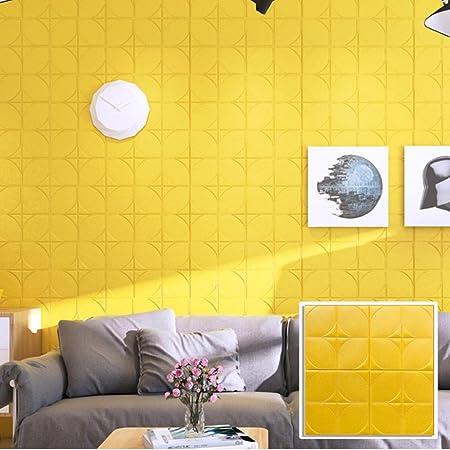 CieKen Foam Brick 3D Wall Panels Self-adhesive Removable for TV ...