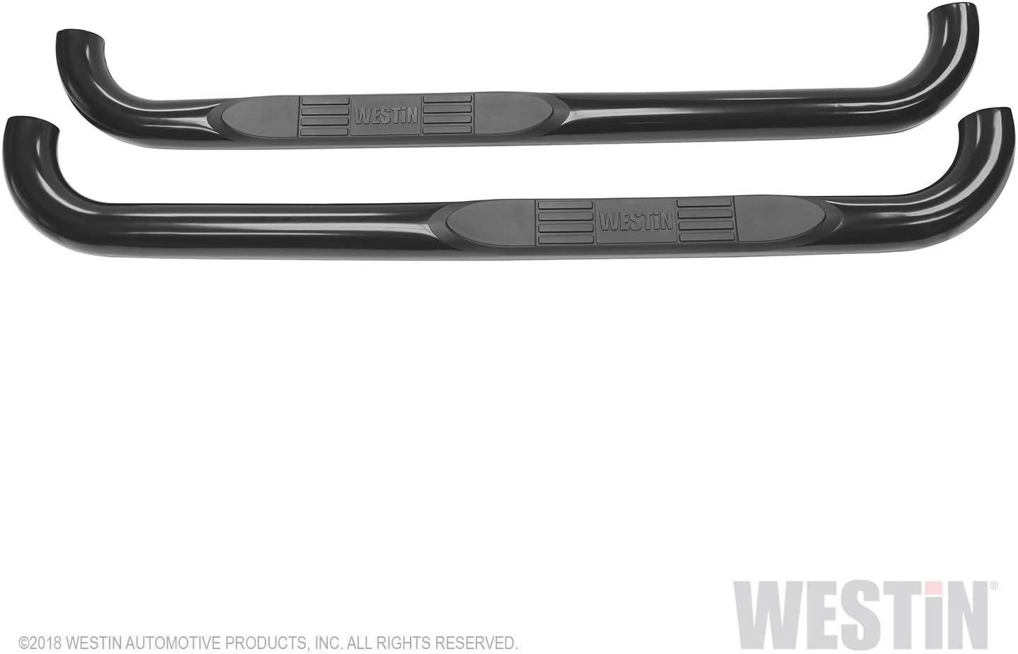 Westin 23-2325 E-Series Black Side Steps 54 Length