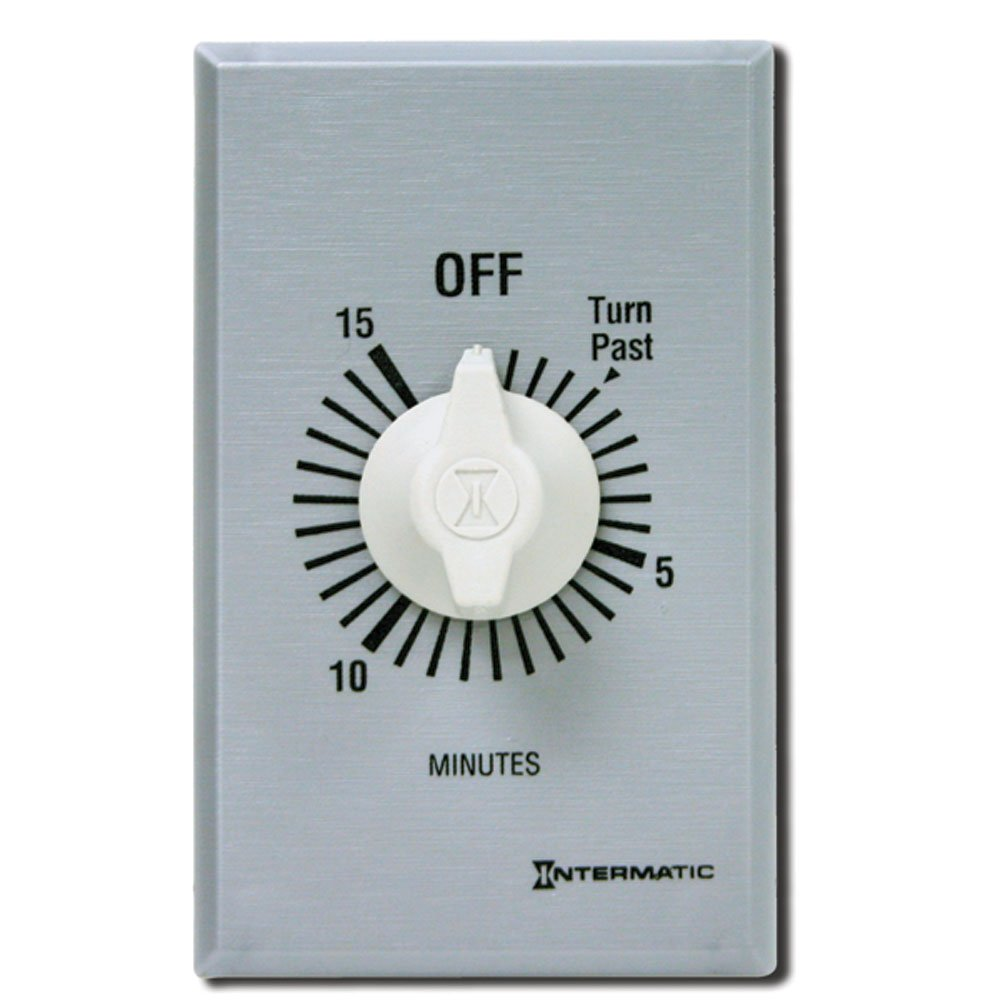 Intermatic SW15MK 15-Minute Spring Wound Timer, Gray by Intermatic