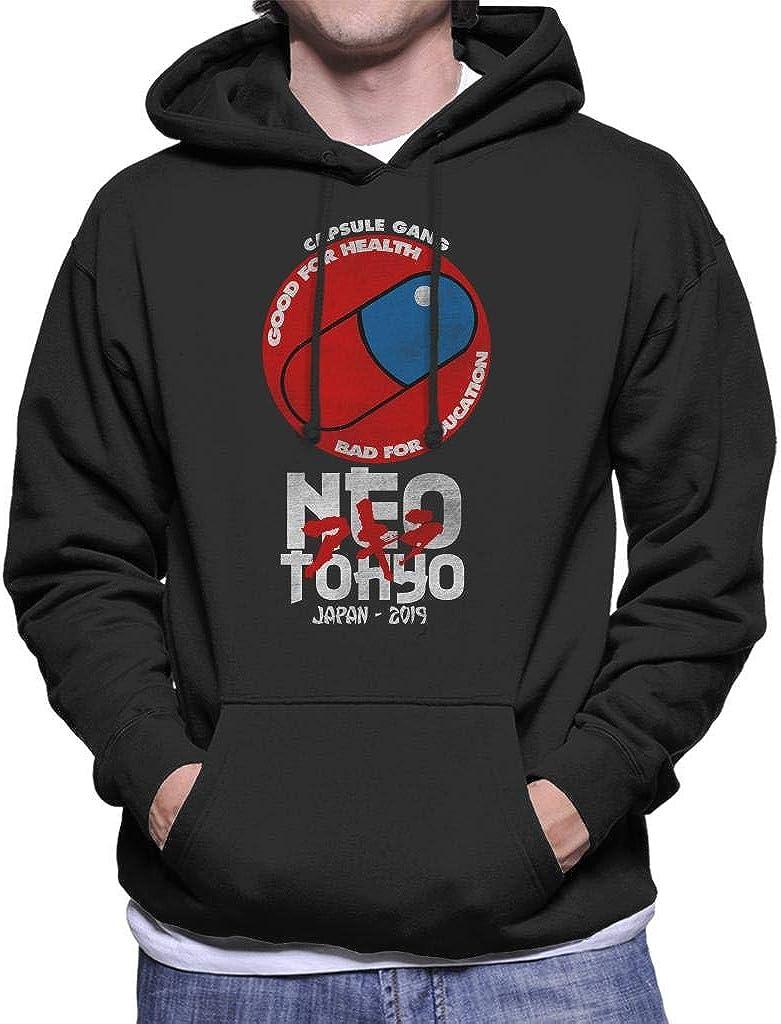 Cloud City 7 Neo Tokyo Capsule Gang Akira Mens Hooded Sweatshirt ...