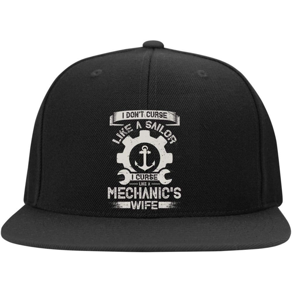 I Dont Curse Like A Sailor Profile Snapback Hat FLOSTORE A Mechanics Life Cap