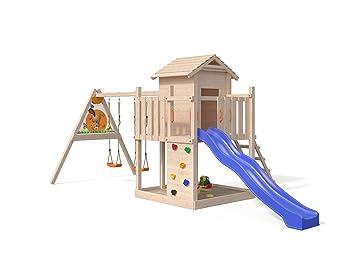 Sehr ISIDOR Gigantico Spielturm von Oskar mit Schaukelanbau Kletterturm LD95