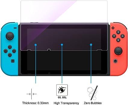 Protector de pantalla para Nintendo Switch, MeiC Power Ultra ...