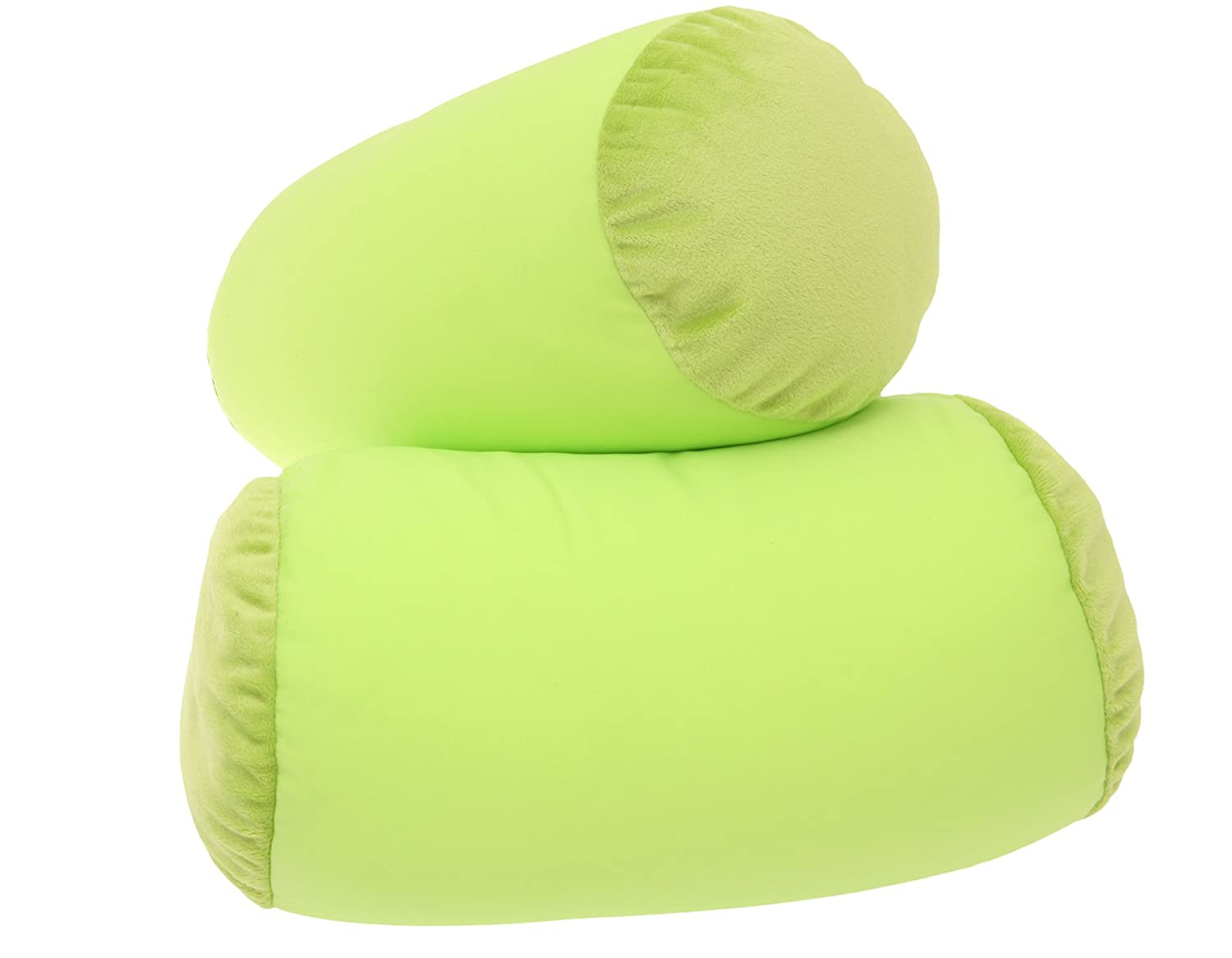 amazoncom microbead pillow neck roll bolster pillows  green  - amazoncom microbead pillow neck roll bolster pillows  green microbeadpillow  squishy micro bead pillow  squishy pillow  moshi pillow  beanpillow