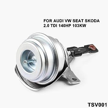 Amazon.com: Ruien Turbo Internal Wastegate Vacuum Actuator Stainless Steel Mounting Bracket GT1749V 724930-5010S 724930 for Audi VW Seat Skoda 2 TDI 140HP ...