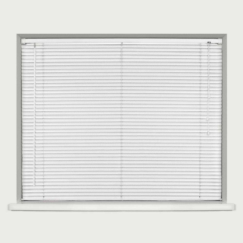 Homestyle Vinyl Slat Mini Venetian Blind White 150cm x 150cm