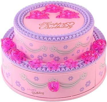 Joyero Musical, INTVN Musical Jewellery Box Caja de música Organizador de Joyas Regalo para niñas (Rosa): Amazon.es: Bricolaje y herramientas