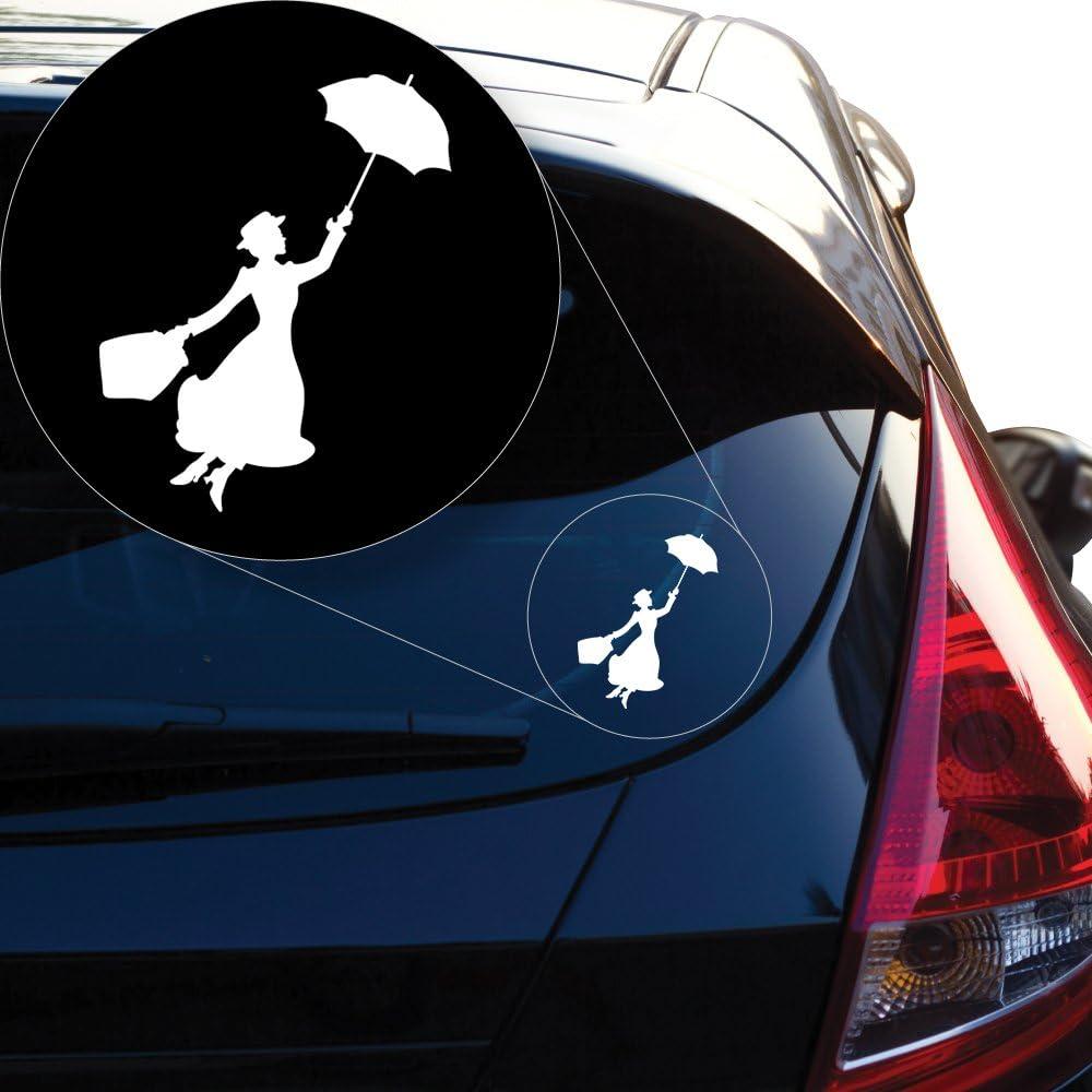 10cm x 10cm Vinyl Sticker for Car,Window,Laptop,Boat,Wall BALLERINA