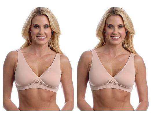 83665aed97c97 Majamas Easy Bra - 2 Pack at Amazon Women s Clothing store  Nursing Bras