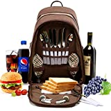 YONOVO Picnic Backpack Bag with Cooler