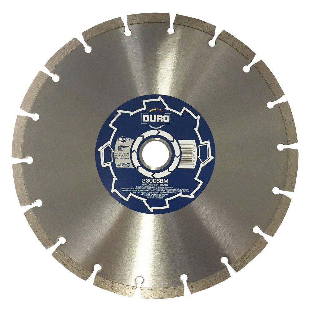 Duro DSBM Base Diamond Blade 230 mm Multi-Colour