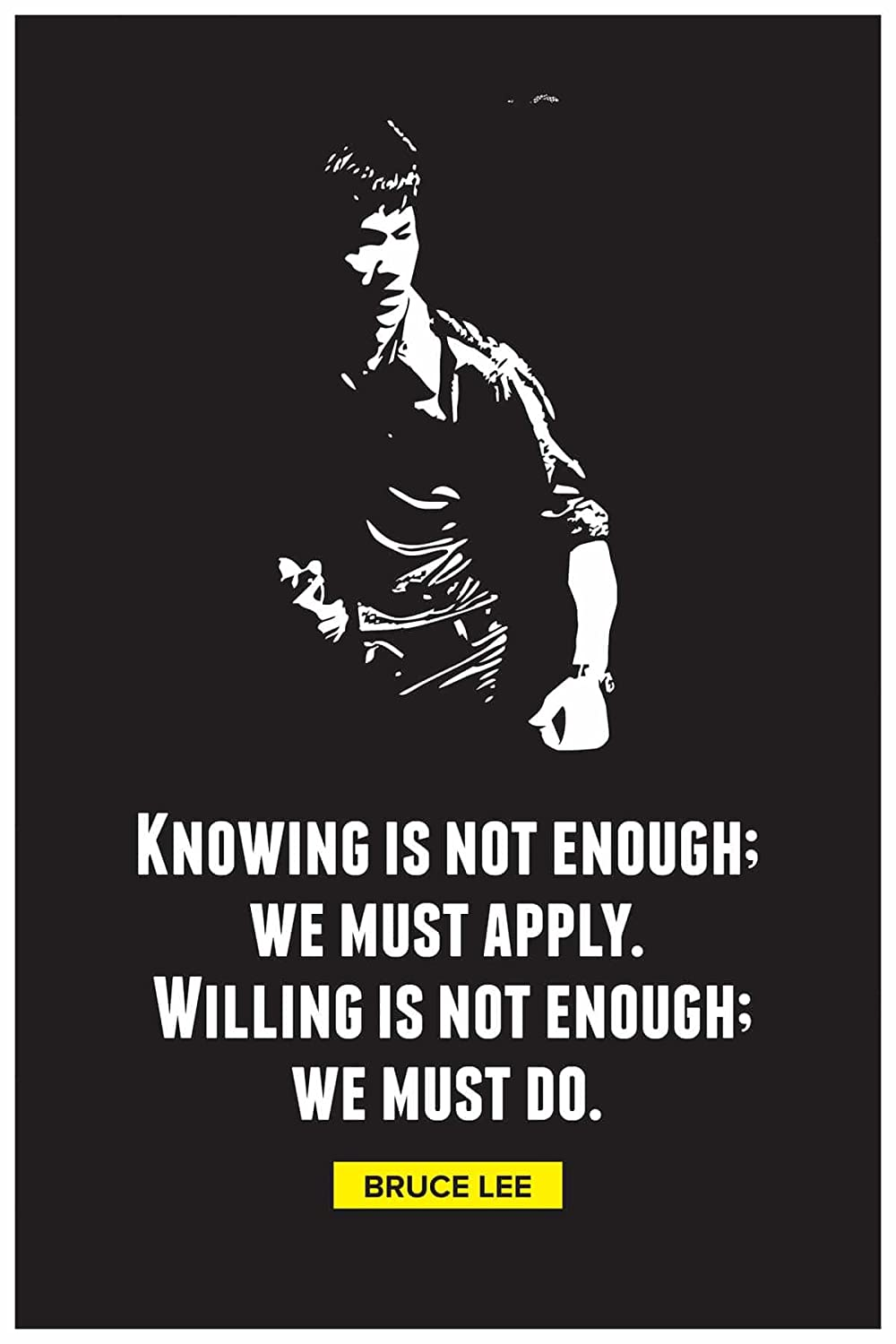 Inephos Paper Bruce Lee Knowing Is Not Enough Inspirational