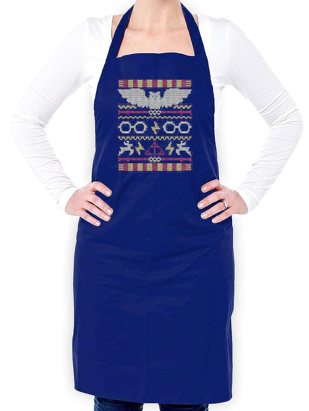 Unisex Fit Adult Apron 8 Colours Harry Christmas