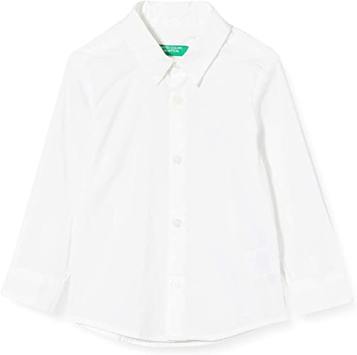 United Colors of Benetton Baby-Jungen Camicia Freizeithemd