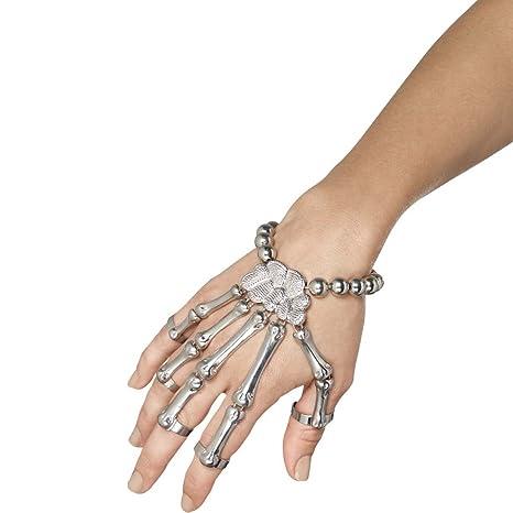 miglior servizio bambino comprare a buon mercato Braccialetto a forma di ossa della mano Bracciale scheletro ...