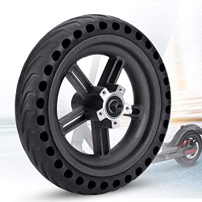 Konesky Solid Tire Replacement for Electric Scooter Xiaomi Mi m365 8.5 inches Scooter Wheel's Replacement Explosion-Proof Solid Tire Wheel Hub Set : Sports & Outdoors