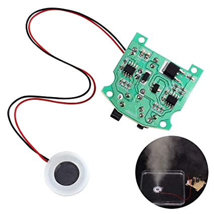 WHDTS 20mm 113KHz Ultrasonic Atomization Maker Mist Atomizer DIY Humidifier With PCB 3 7 12V