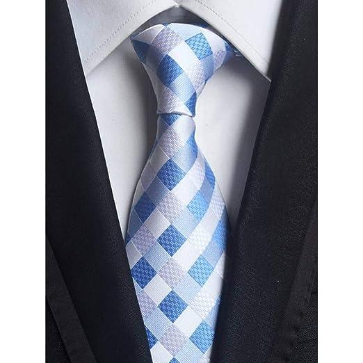AK Corbata New Classic 8Cm Checks Azul Rojo Blanco Corbatas ...