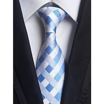 AK Corbata New Classic 8Cm Checks Azul Rojo Blanco Corbatas de ...
