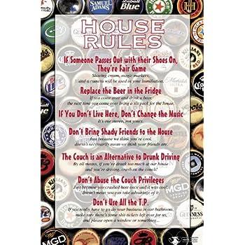 NMR/Aquarius House Rules Dorm Poster