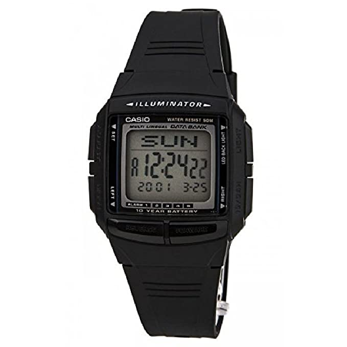 b54b2f11316d Casio Casio DB-36-1AV DB-36-1AV casio - Reloj  Amazon.es  Relojes
