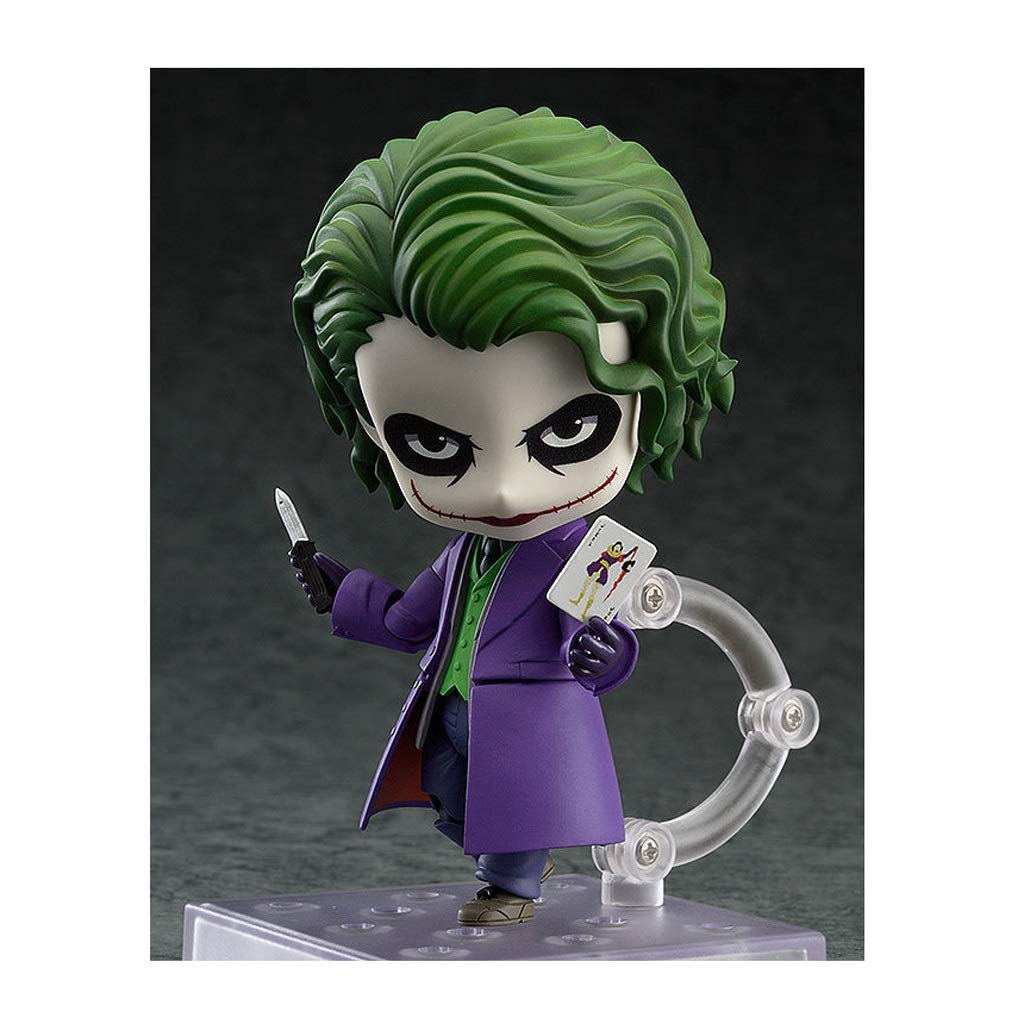 Batman Dark Knight Clown Joker Nendoroid Action Figure About 4 Inches