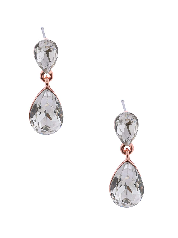 Topwholesalejewel Fashion Earring Rose Gold Plating Dangle Earring
