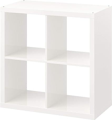 IKEA KALLAX - Estantería (77 x 39 x 77 cm), color blanco ...
