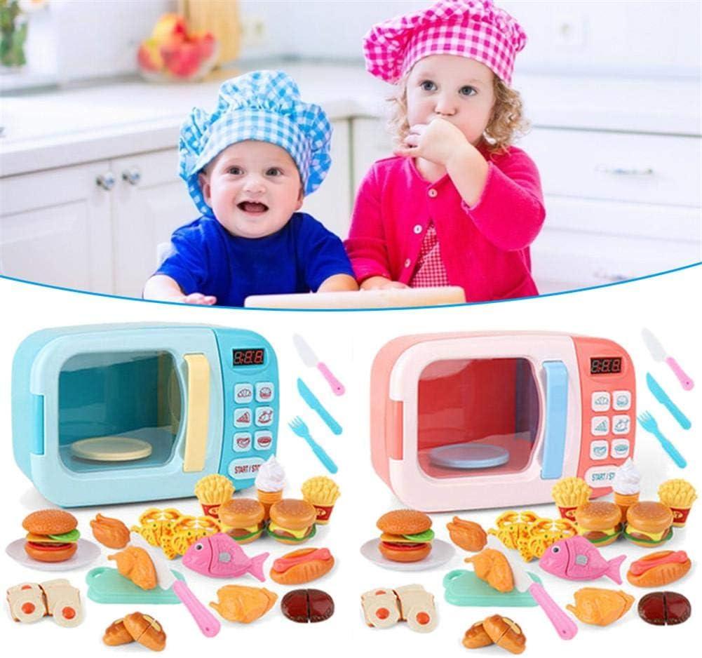 Vajilla Horno Juego De Imaginación Juguetes Para Niños Vogueyouth Microondas Juego De Cocina De Cocina Educativo Batería Eléctrica Simulación De Tiempo Simulación Cocina Ware Toy Juguetes De Cocina Juegos De Imitación