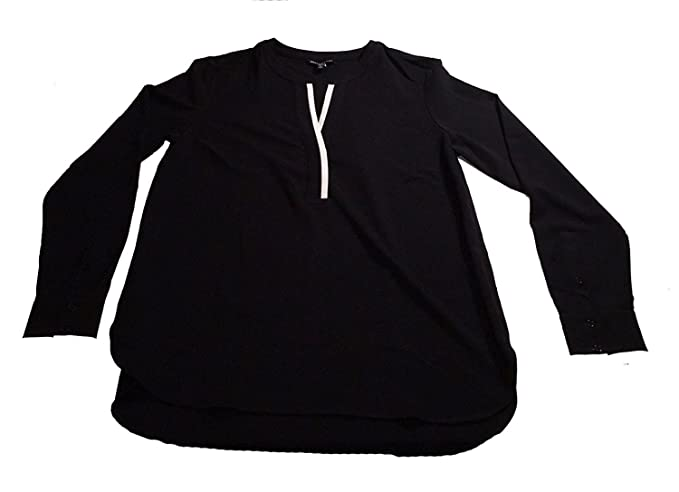 4f07efd1ecfe57 Image Unavailable. Image not available for. Color  Hilary Radley Womens V  Neck Long Sleeve Shirt