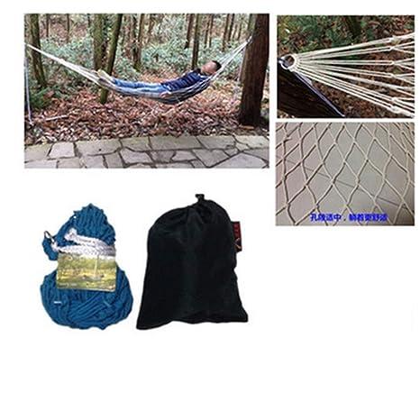 AA-Outdoor hammock Hamaca de Lona para jardín portátil para Acampar al Aire Libre: Amazon.es: Hogar