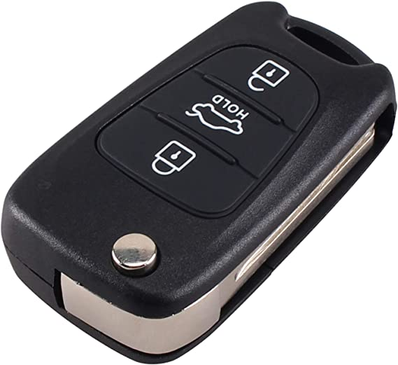Keyless Entry 3 Tasten Klapp Fernbedienung Schlüssel Elektronik