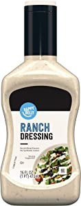 Amazon Brand - Happy Belly Ranch Dressing, 16 Fl Oz