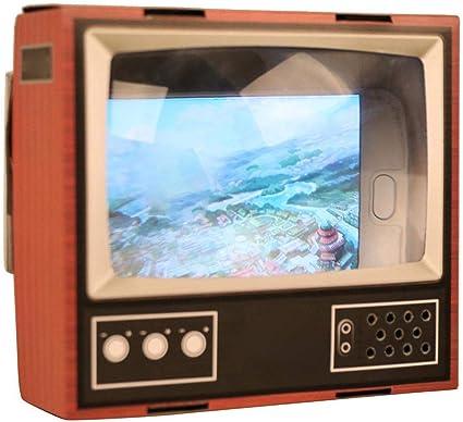 YouN DIY Cartón Clásico TV Lupa Amplificador para Smart Phone Watching: Amazon.es: Coche y moto