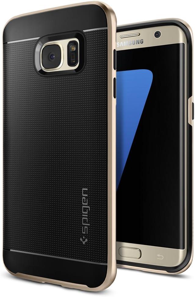 Spigen Galaxy S7 Edge Carcasas y Fundas Neo Hybrid Gunmetal 556CS20143