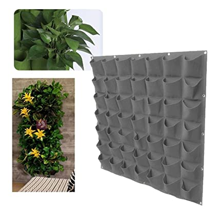 Amazon Com Pawaca 49 Pockets Wall Planter Vertical Garden Wall