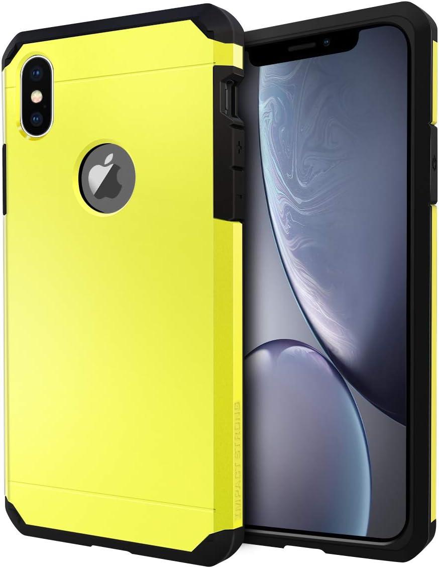 Funda de alta resistencia para iPhone X / iPhone Xs Amarilla