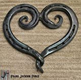Forged Steel Horseshoe Twist Heart – Large Review