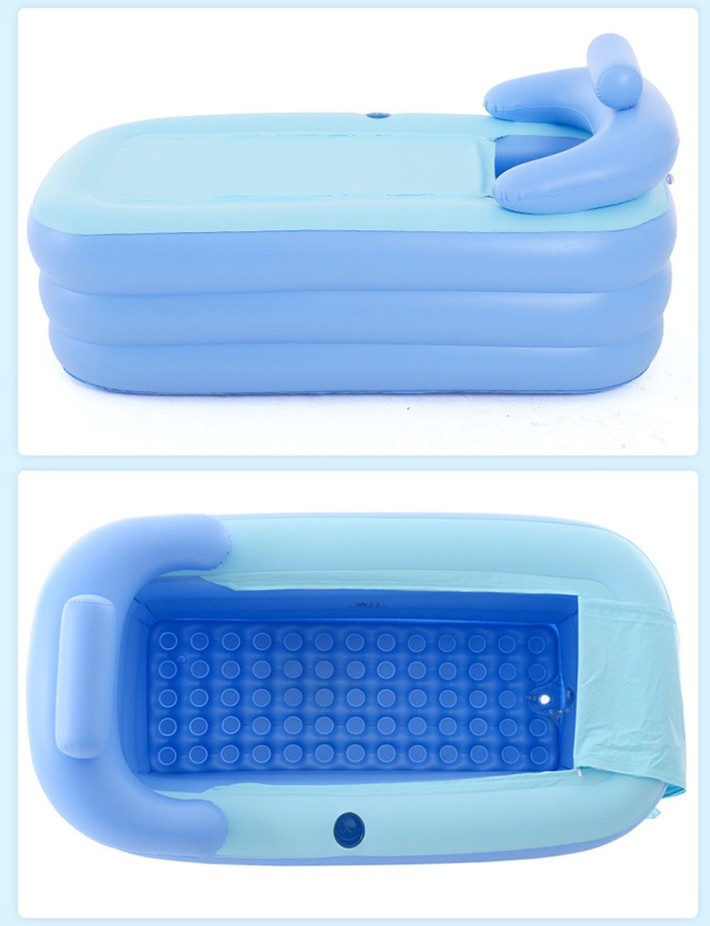 KiHomy SPA Inflatable Bath Tub, Adult Plastic Portable Adult Bathtub      Amazon.com