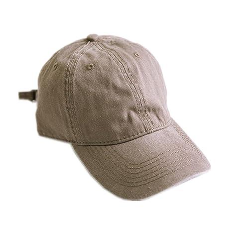 WDILO - Sombreros de lona para hombre y mujer b15d0d89792d