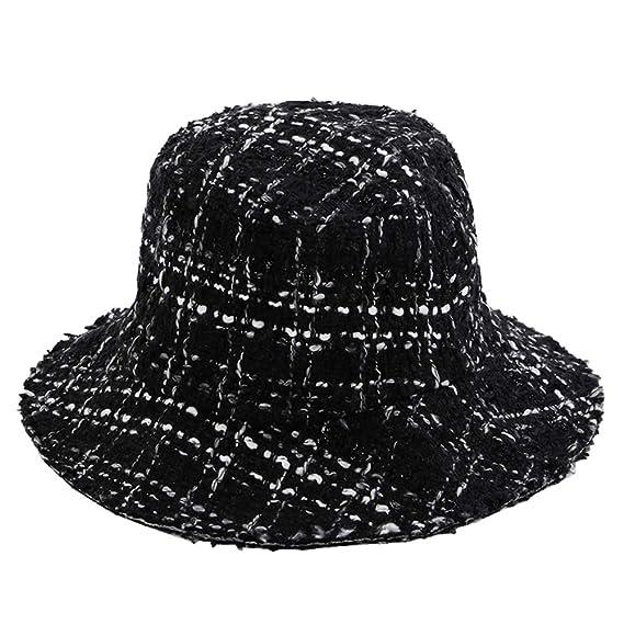 Gorra de Moda Sombrero de Sol Gorro de Algodon Sombrero de Mujer de ala  Ancha Sombrero de Playa Plegable para Invierno  Amazon.es  Ropa y accesorios 4c1a7bc6e51