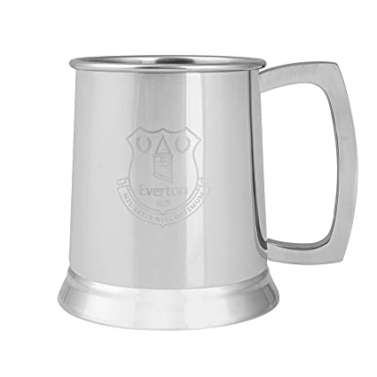 Everton FC - Jarra de Cerveza Oficial - Acero Inoxidable ...
