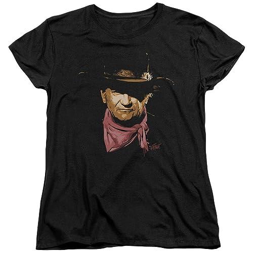 John Wayne-Splatter-Maglietta da donna